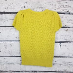 The Limited Sweaters - The Limited mustard yellow cotton cardigan in xs